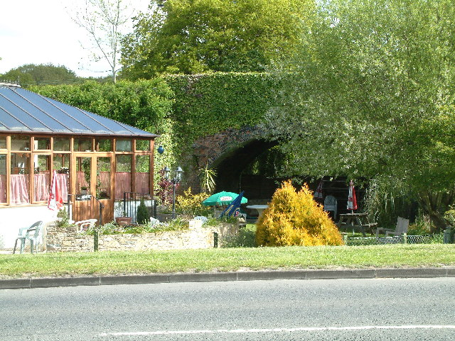 Verwood, old railway bridge