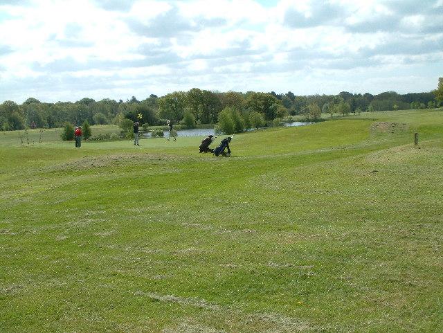 Verwood, Crane Valley golf course