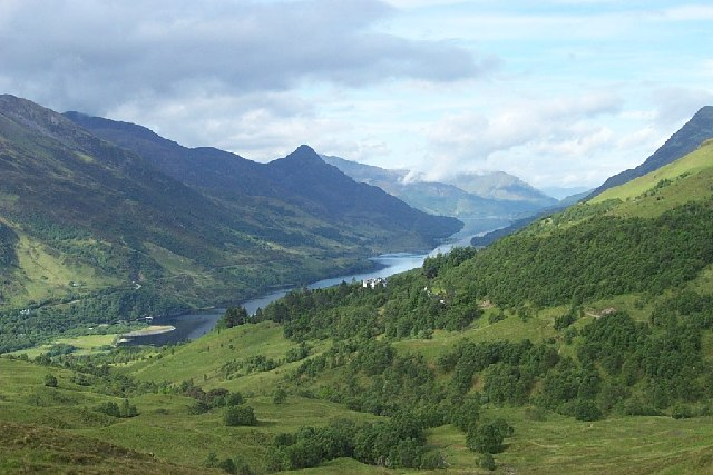 Mamore Lodge, Loch Leven and Pap of Glencoe
