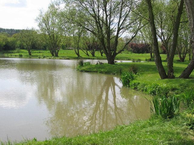 Pond on Keswick Beck