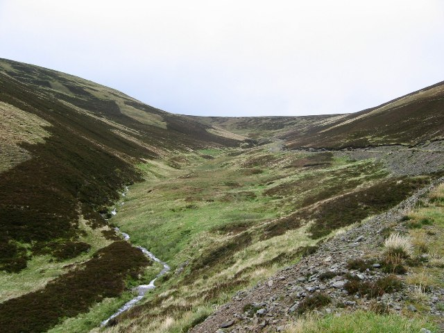 The head of the Cramalt Burn.