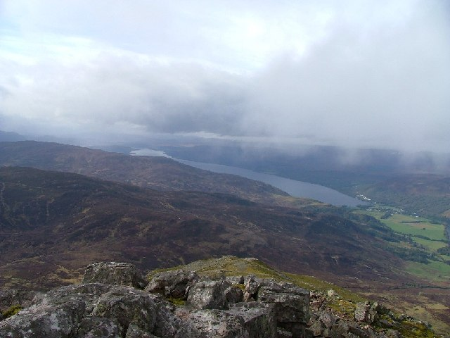 Schiehallion looking northwest