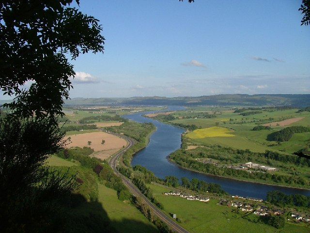 River Tay looking east from Kinnoull Hill