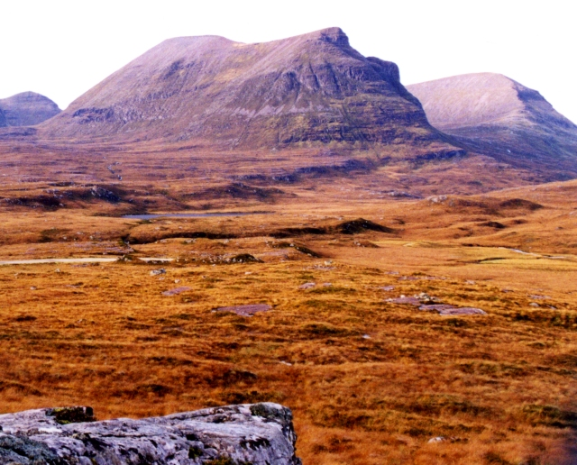 Quinag from the east