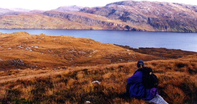 Looking towards Loch Glencoul