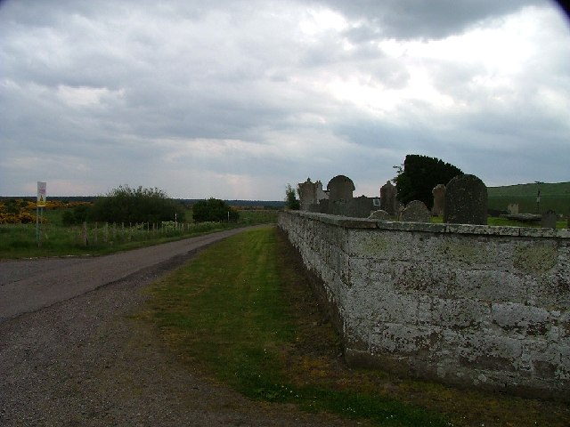 Looking South from old Military Graveyard