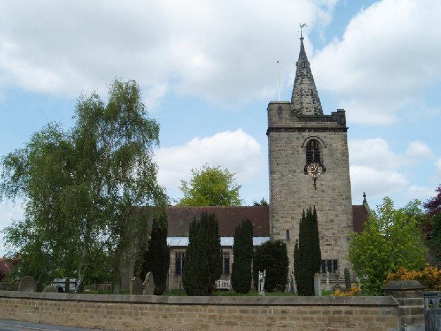 All Saints Church, Rufforth