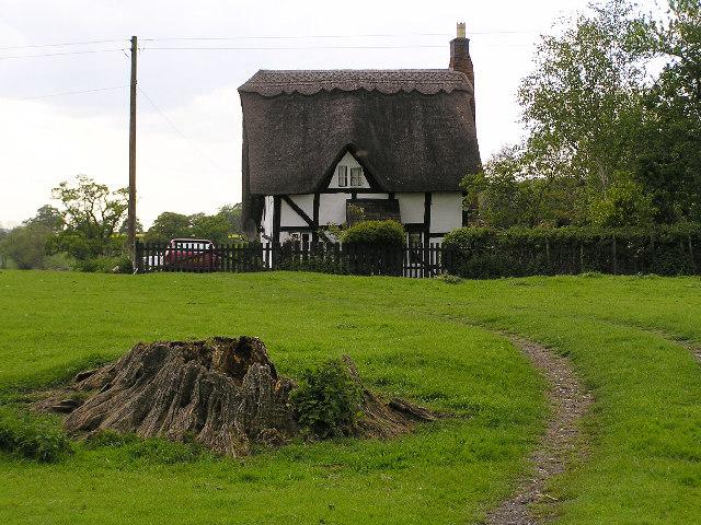 Cobweb Cottage near White ladies Aston.