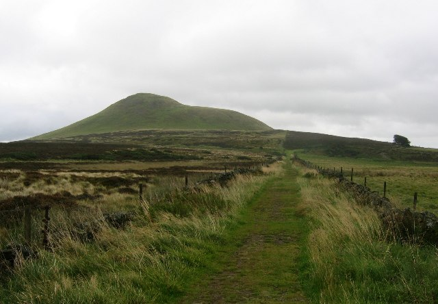 Green Lane on the Lomond Hills