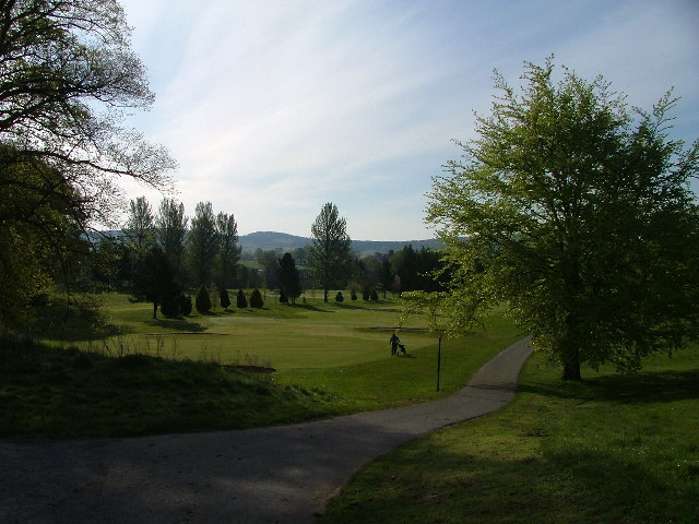 North Inch Golf Course looking South