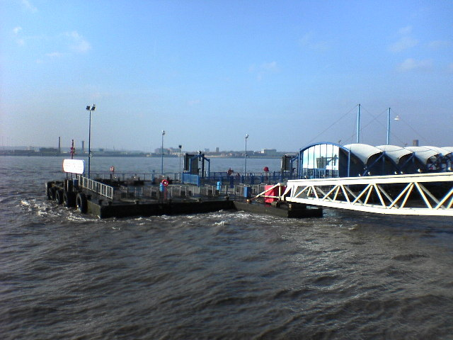 South end of the Pier Head Landing Stage