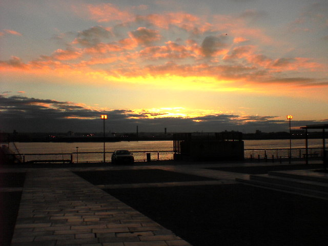 Pier Head Sunset