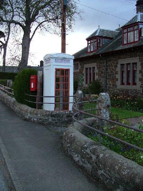 Only K3 Telephone Kiosk in Scotland