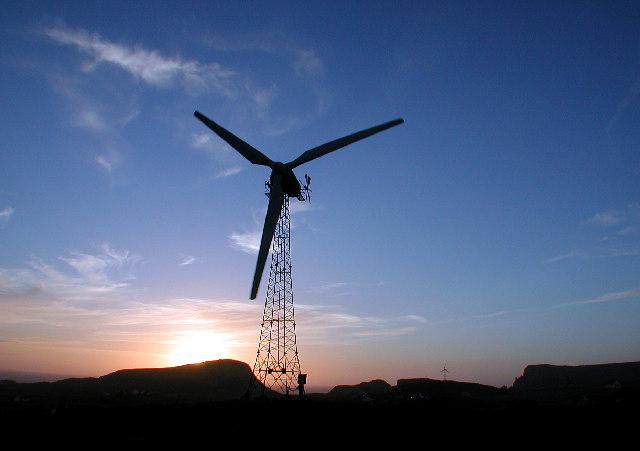 100kW Aerogenerator, Fair Isle