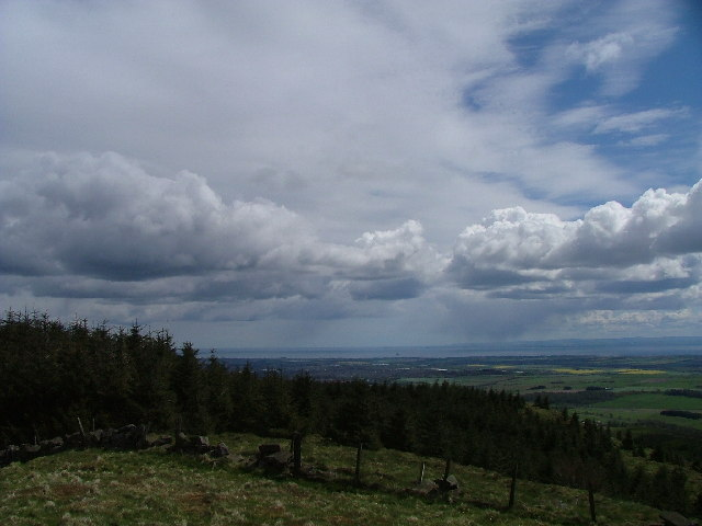 Munduff Hill looking south