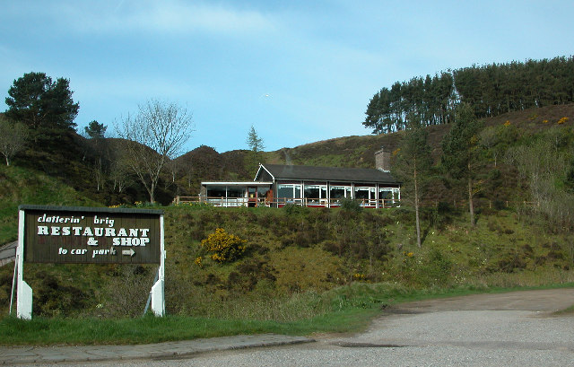 The Clatterin Brig restaurant on the Cairn O Mount Road