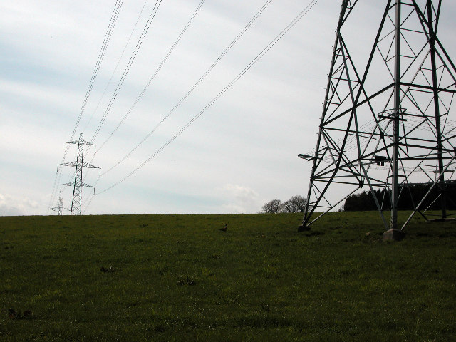 Power Lines in the Howe of the Mearns