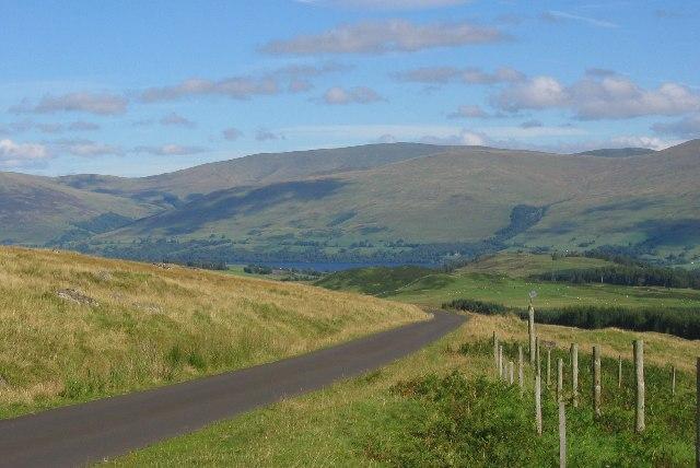Road over Ben Lawers