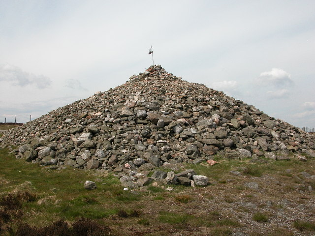 The Cairn of Cairn o Mount