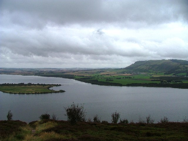 Loch Leven from the viewpoint above Vane Farm
