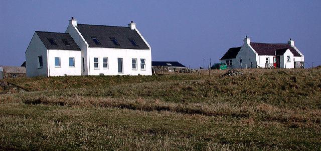 Croft houses, Fair Isle