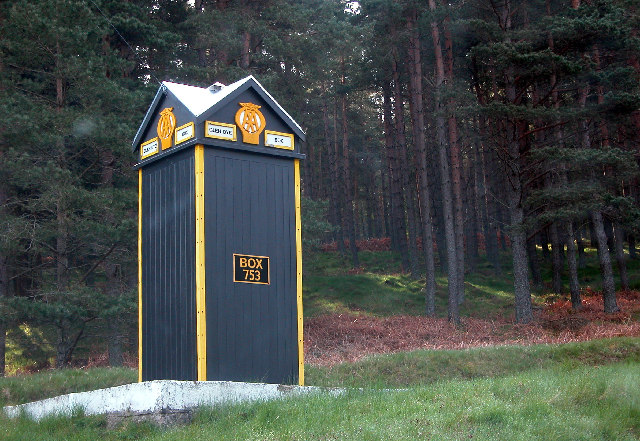 The AA Phone Box in Glen Dye