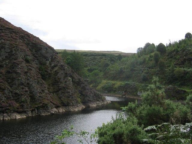 Torduff Reservoir.