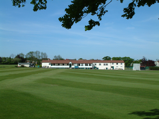 Cricket pavilion, The Paulin Ground