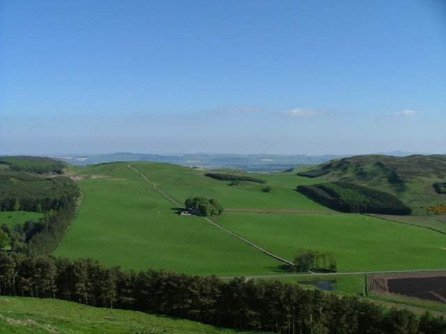 View from Dunsinane Hill South