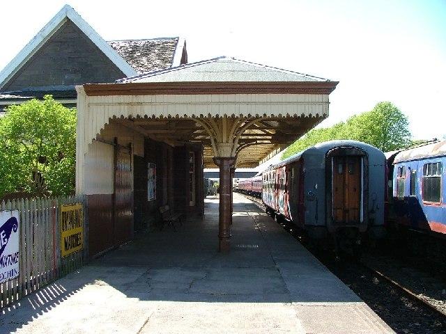 Bridge of Dun Railway Station