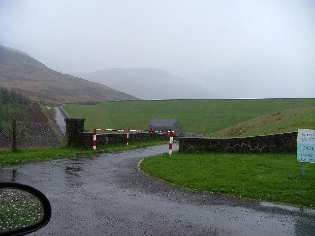Loch Turret Dam