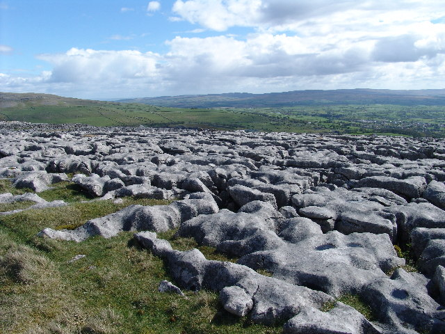 Limestone Pavement at Twisleton Scar End