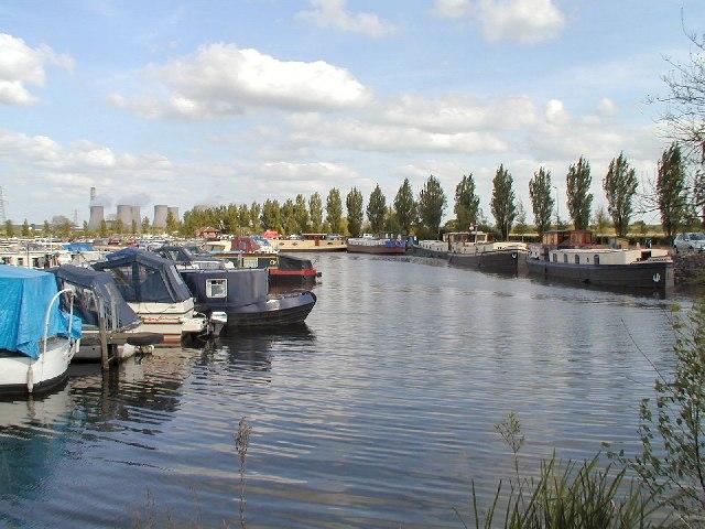 Boats at Sawley Marina