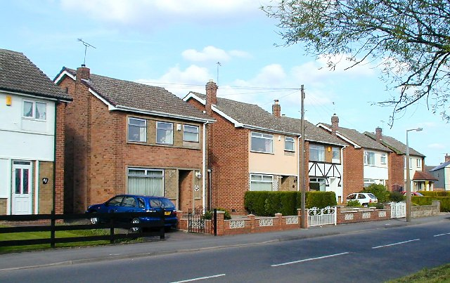 Houses on Wilne Road