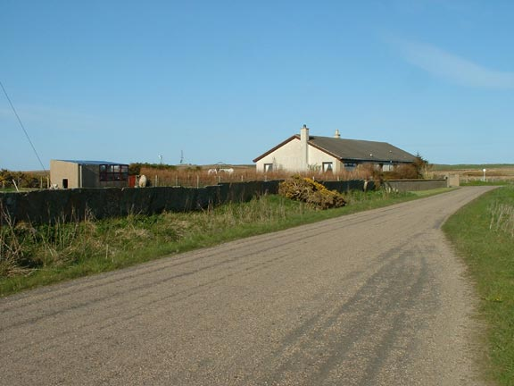 Farm Land and Private Houses