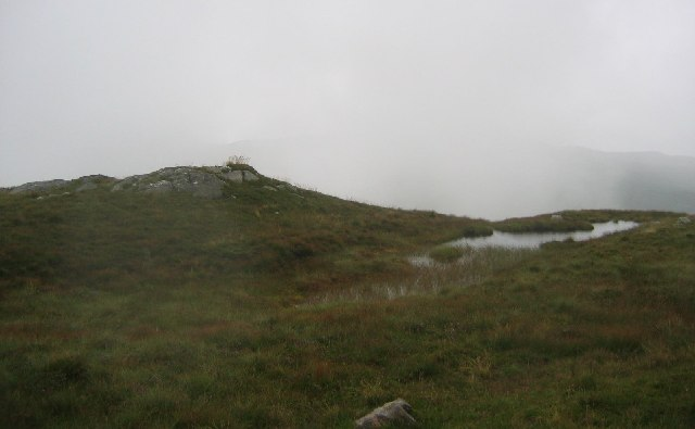 Summit of Creag Mhor.