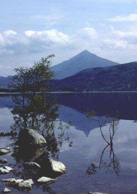 Schiehallion from Loch Rannoch