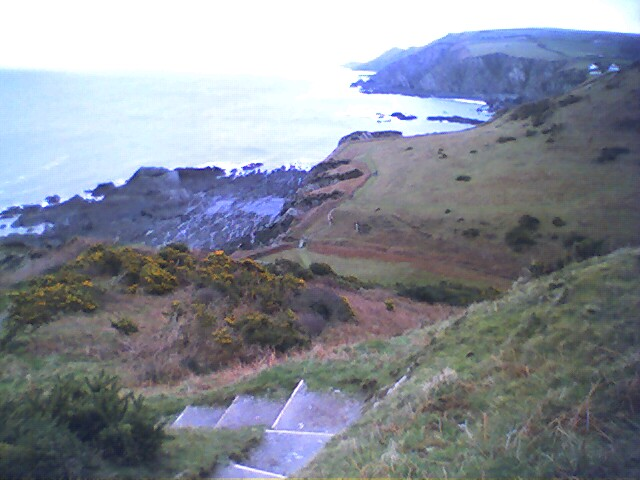 View over Lee Bay