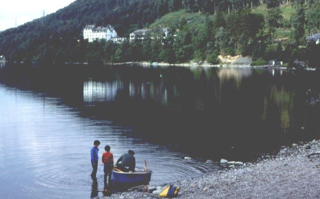 Loch Rannoch at Kinloch Rannoch