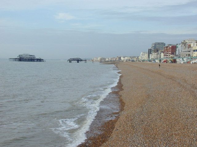 Brighton's West Pier and Seafront