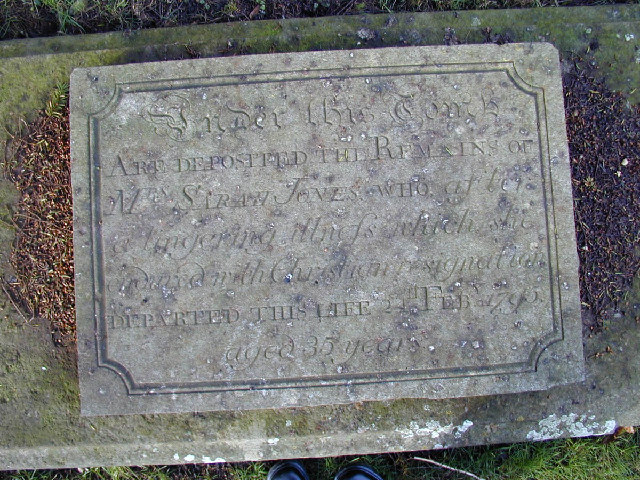 Grave Marker at Norman Era Church by Preston Manor