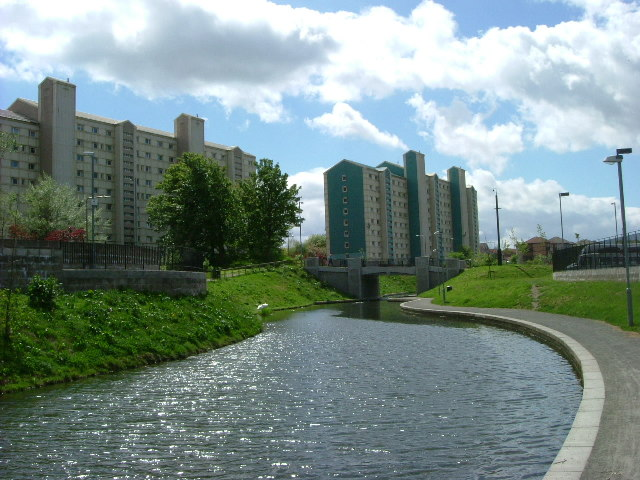 Union Canal, Wester Hailes, Edinburgh