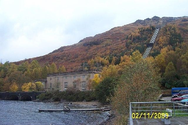 HEP station Inveruglas Loch Lomond