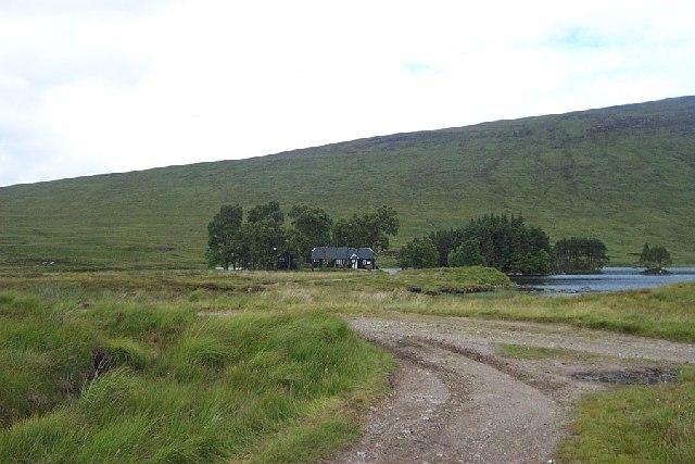 Loch Ossian Youth Hostel near Corrour Station