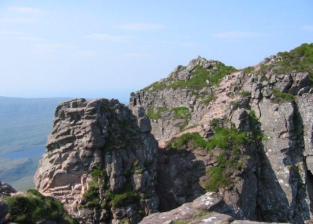 Stac Pollaidh, Summit