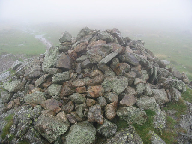 Cairn on Stony Cove Pike (Caudale Moor)