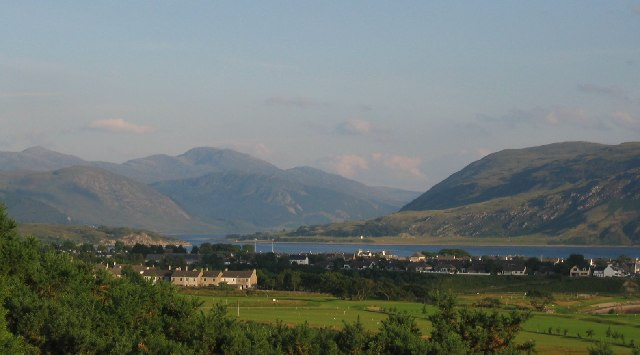 Ullapool from Morefield.