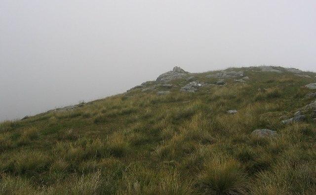 Summit, Creag nam Bodach