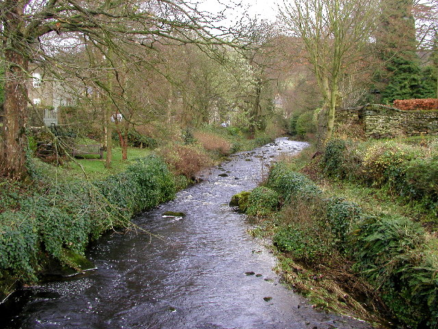The stream in Clapham Village