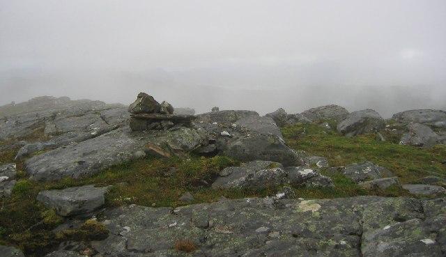 West top of Beinn Tharsuinn.